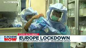 Coronavirus LIVE: Deaths drop in Spain as France and UK to extend lockdowns [Video]
