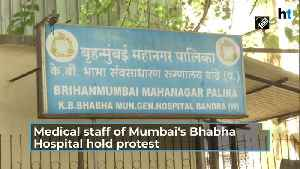 Watch: Mumbai hospital staff protest against low quality PPE kits [Video]