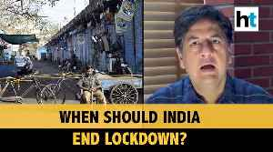 Vikram Chandra on when India should end lockdown, & other top news [Video]