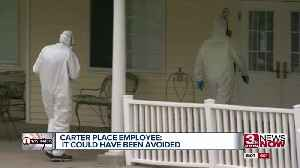 Employee: 'Blatant neglect' led to outbreak at Carter Place [Video]
