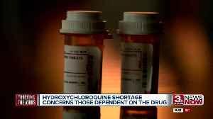 Hydroxychloroquine Shortage Concerns Those Dependent on Drug [Video]