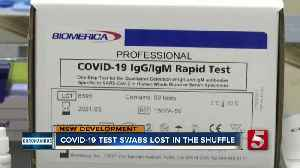 Nashville patient's COVID-19 test lost twice as labs are inundated with tests [Video]