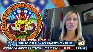 Supervisors push for property tax relief [Video]