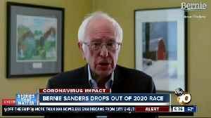 San Diegans react to Bernie Sanders dropping out of race [Video]
