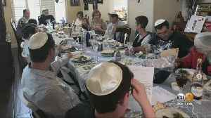 Families Use Video Chat To Come Together For Passover Seder While Practicing Social Distancing [Video]