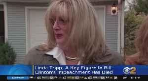 Linda Tripp, Key Figure In Bill Clinton's Impeachment, Dies At Age 70