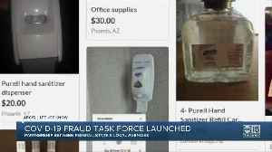 Protecting Consumers: COVID-19 Fraud Task Force launched [Video]