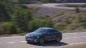 The all-new Audi e-tron Sportback Teaser [Video]