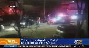 Man Shot To Death On Staten Island [Video]