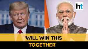 'Times like these..': PM Modi responds to Donald Trump's thank you message [Video]