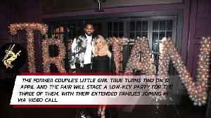 Khloe Kardashian and Tristan Thompson to celebrate True's birthday together [Video]