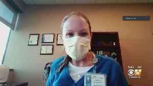 Staffer Digitally Takes CBS 11 Inside COVID-19 Hospital Unit [Video]