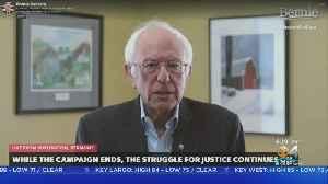 Sen. Bernie Sanders Ended Run, Cited Country's Battle With Coronavirus [Video]