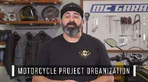 Motorcycle Project Organization How-To | MC Garage [Video]