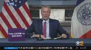 Coronavirus Update: Mayor Bill de Blasio Outlines Next Phase In Pandemic Fight [Video]