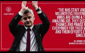 Man Utd announce support package to aid NHS fight against coronavirus