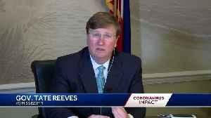 Coronavirus conversation with Gov. Tate Reeves [Video]