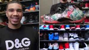 Jayson Tatum's Rare Sneaker Collection [Video]