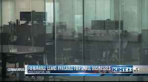Loans available for small businesses expereincing hardship from COVID-19 [Video]