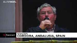 Flamenco prayers sung from balconies in Andalusia despite pandemic