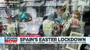 In Spain and beyond, Christians prepare to mark Easter in lockdown