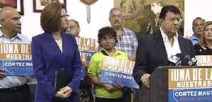 Senator Cortez-Masto addresses VP rumors [Video]