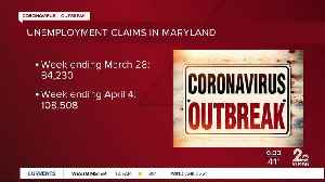 108,508 Maryland citizens filed for unemployment last week [Video]