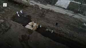 Drone Footage Shows Mass Grave In New York [Video]