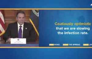 New York sees first drop in ICU patients in a day- NY Gov. Cuomo
