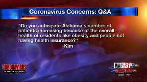 WAAY 31 Coronavirus Concerns Q&A: Will obesity make Alabama's coronavirus numbers rise? [Video]