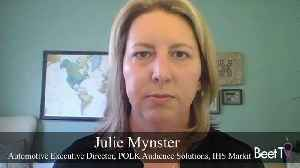Julie Mynster from POLK: The Future of Online Car Shopping [Video]