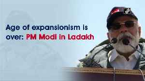 Age of expansionism is over: PM Modi in Ladakh [Video]