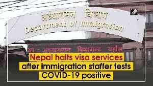Nepal halts visa services after immigration staffer tests COVID-19 positive [Video]