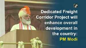 Dedicated Freight Corridor Project will enhance overall development in the country: PM Modi [Video]
