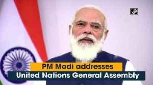 PM Modi addresses United Nations General Assembly [Video]