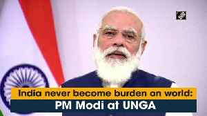 India never become a burden on world: PM Modi at UNGA [Video]
