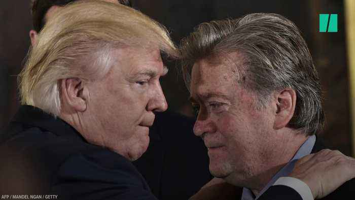 Trump And Bannon's Complex Relationship