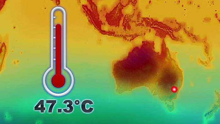 Sydney confirmed as the hottest place on Earth after reaching 47.3 C