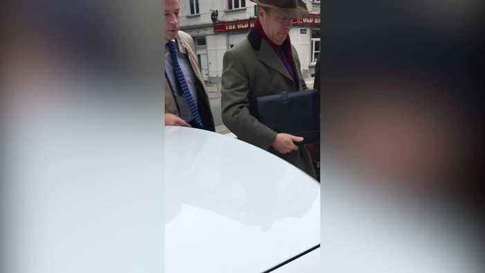 News video: Nigel Farage Meets Michel Barnier: How The Day Unfolded