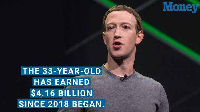 News video: Mark Zuckerberg Has Already Made $4 Billion in 2018