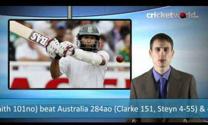 Cricket Video - South Africa Win Incredible First Test Match - Cricket World TV