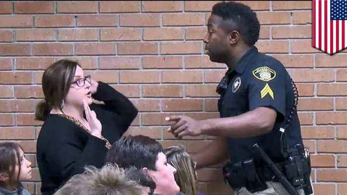 News video: Louisiana teacher cuffed, arrested for blasting superintendent's raise