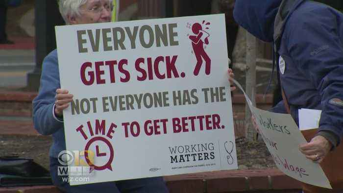 News video: Maryland House Votes To Override Veto Of Paid Sick Leave