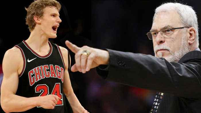 News video: Phil Jackson Tried to Give Lauri Markkanen FOOD POISONING!!?