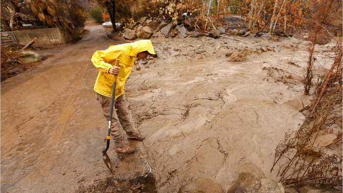 News video: 43 Reported Missing In California Mudslide