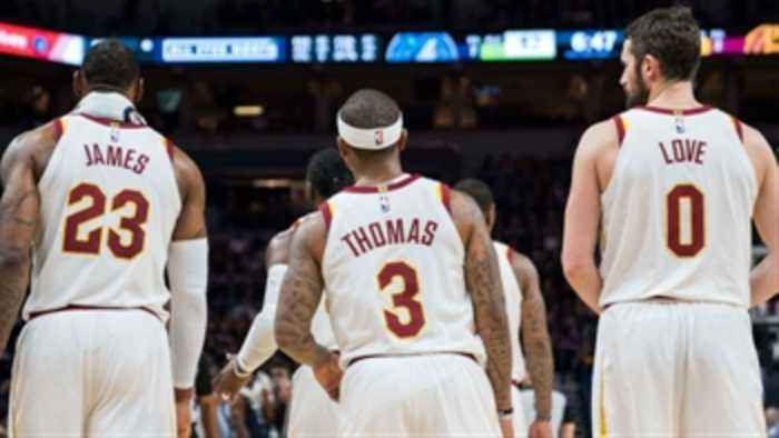 Nick Wright reacts to the Cleveland Cavaliers' blowout loss to the Toronto Raptors