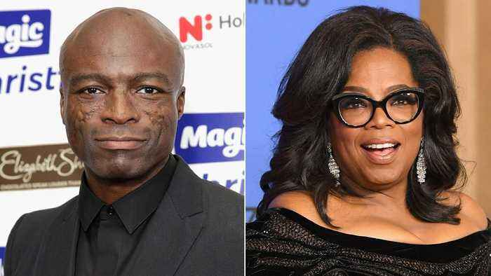 News video: Seal Clarifies For His Controversial Oprah Winfrey Post Kissing Harvey Weinstein
