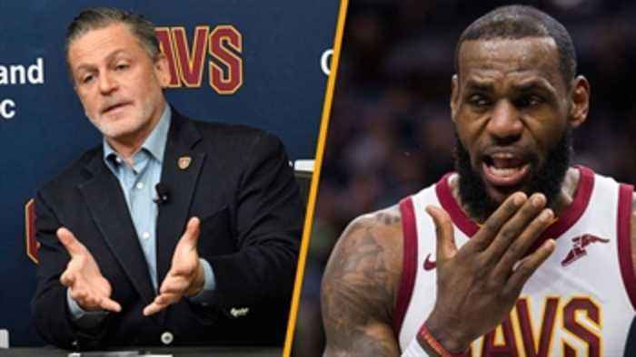 News video: Chris Mannix reveals Dan Gilbert's No. 1 priority as Cavs owner in order to keep LeBron James