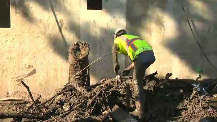 News video: 'Window closing' for California mudslide searchers as death toll rises to 18