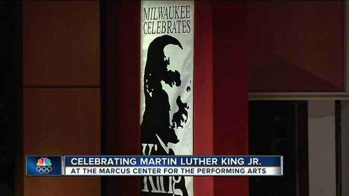News video: Celebrating Martin Luther King Jr. Day at the Marcus Center